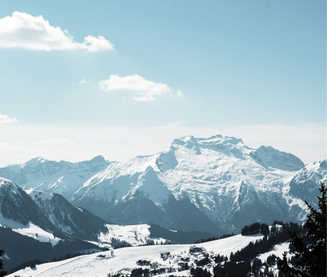 Multitud de montañas